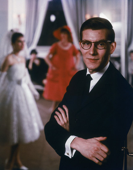 A Young Yves Saint Laurent