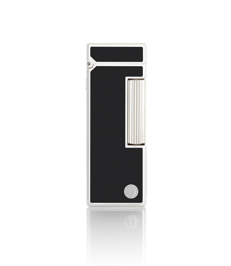Dunhill Black Lacquer Rollagas Lighter