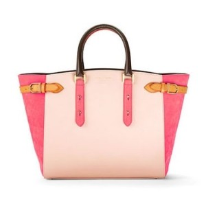Misty Rose Pebble & Coral Nubuck Marylebone Tote