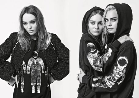 Cara Delevingne & Lily-Rose Depp for Chanel